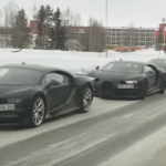 """4 nové Bugatti Chiron """"odstavené"""" vo Švédsku? Dôvod vás pobaví"""