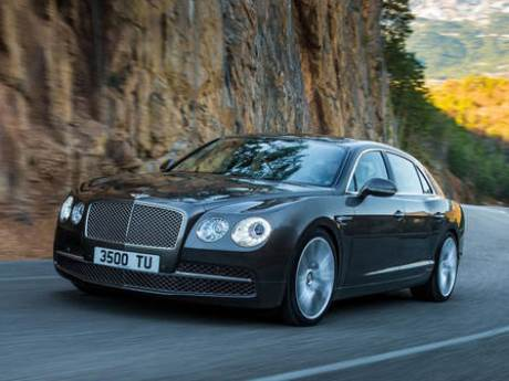 Nové Bentley Continental Flying Spur