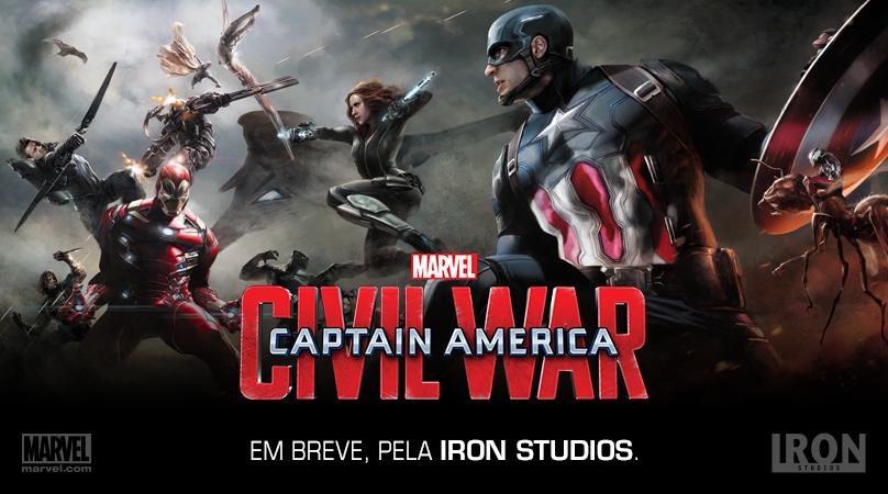 Captain America Občianska vojna