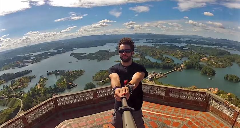 Cesta okolo sveta v 360 stupňoch, 3 roky zážitkov v jednom videu