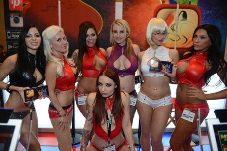 Fotoreportáž z AVN Adult Entertainment Expo 2014 v Las Vegas 1