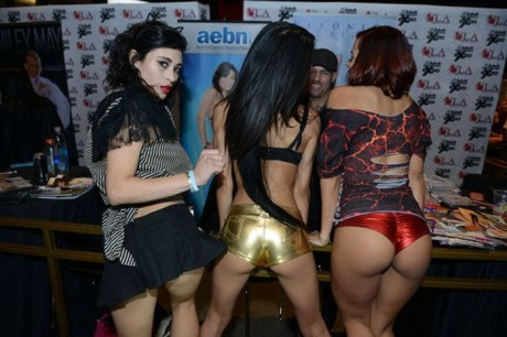 Fotoreportáž z AVN Adult Entertainment Expo 2014 v Las Vegas 17