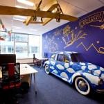 Vynovené kancelárie Googlu na Slovensku