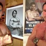 Kličko zverejnil fotku so Schwarzeneggerom, ten mu to vrátil