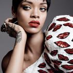 Kráska Rihanna na obálke marcového vydania magazínu Vogue