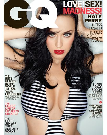 Krásna a sexi Katy Perry na obálke magazínu GQ 2