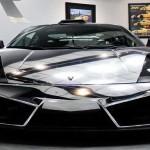 Pochrómované Lamborghini Gallardo Matador