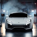 Arabské superauto Lykan Hypersport
