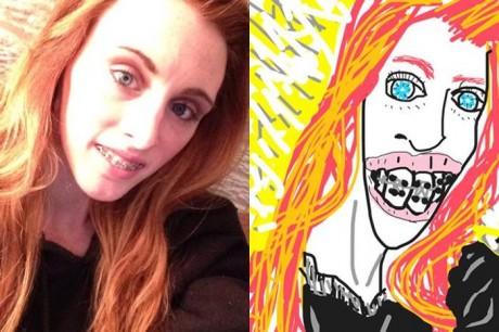 Najlepšie selfie fotky vylepšené umelcom 4