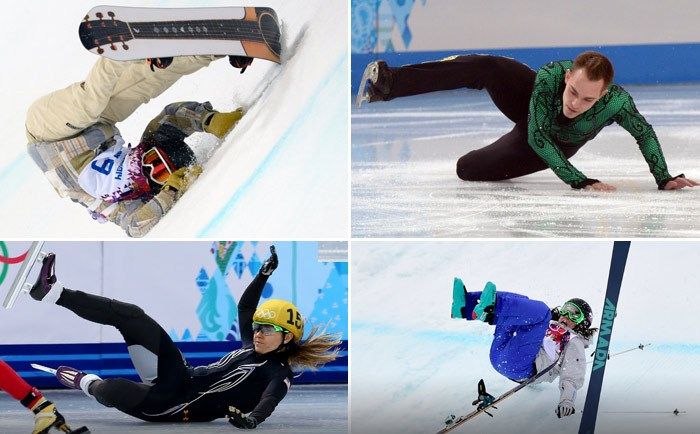 Najväčšie faily zimných olympijských hier v Soči 2014 (20 fotografií)