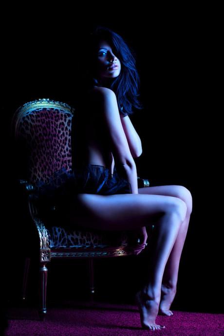 Nemecká modelka Elena Ginsburg a jej fotokolekcia Hotel Sins 8
