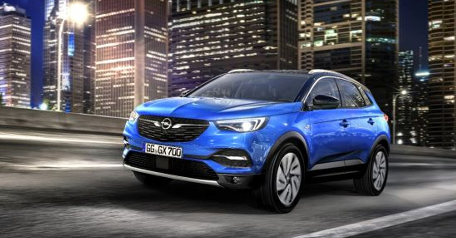 Nové SUV - Opel Grandland
