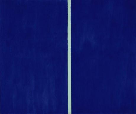 Bizarné: Obraz s bielou čiarou sa predal za takmer 44 miliónov