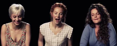 členky holandskej dievčenskej kapely ADAM vo videoklipe