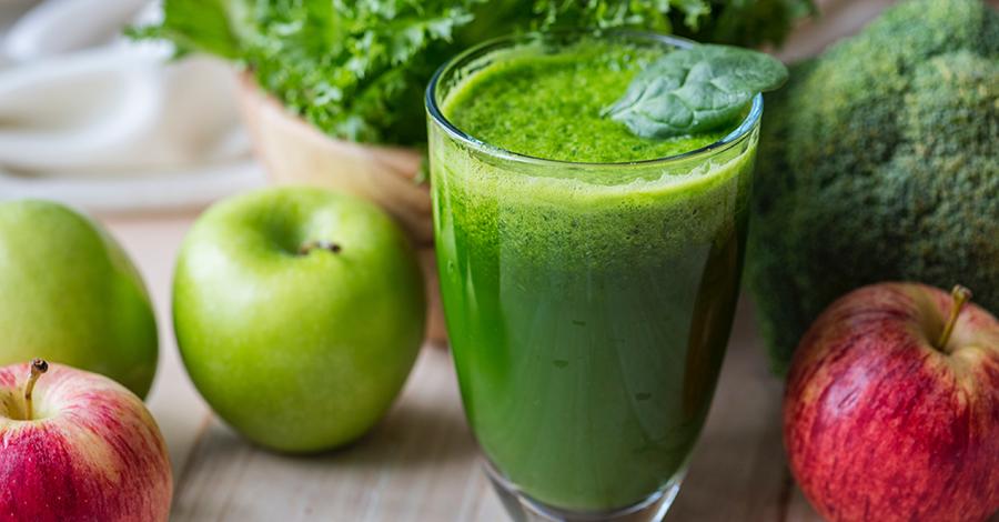 Ovocný alebo zeleninový smoothie