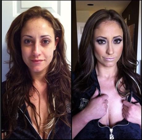 Pornohviezdy bez mejkapu 19