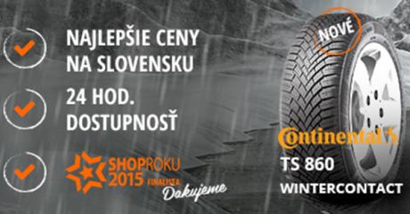 Prečo si vybrať zimné pneumatiky Continental