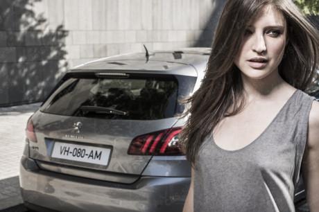 Slovenská modelka v svetovej kampani na nový Peugeot 308 2