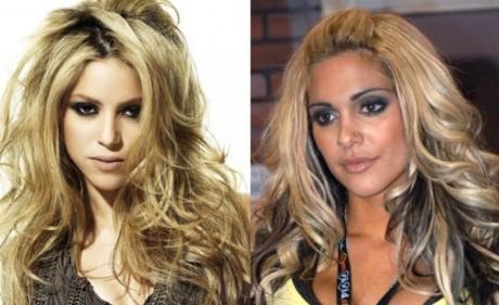 Shakira a Carmel Moore