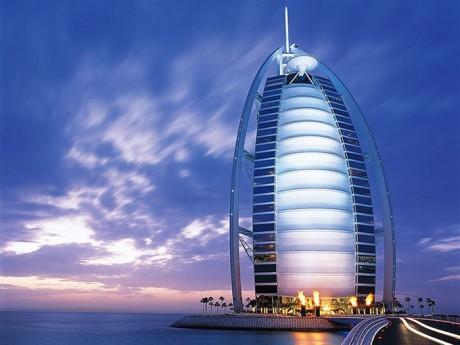 hotel Burj Al-Arab v Dubaji