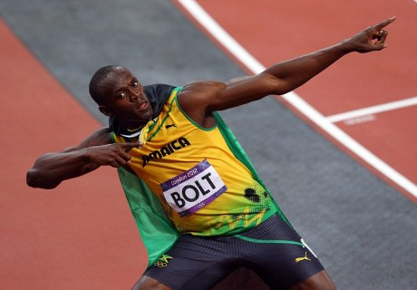 Usain Bolt v súboji celebrít efektne zasmečoval