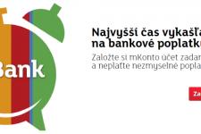 Vedenie a založenie účtu mKonto zdarma, navyše získate 20 eur