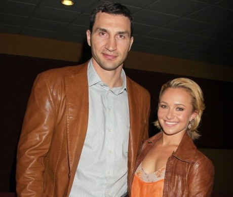 Vladimir Kličko a Hayden Panettiereová