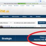 Ako 1. máj prezentovali slovenské spravodajské stránky